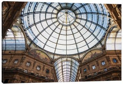 Galleria Vittorio Emanuele, Milan, Italy Canvas Art Print