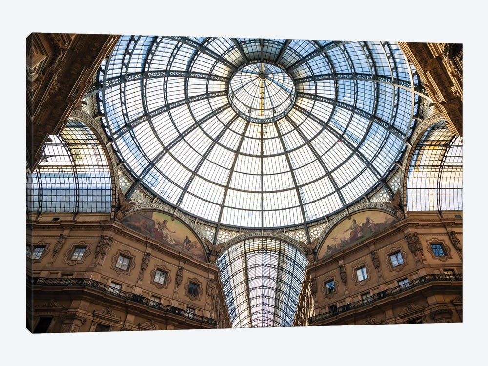 Galleria Vittorio Emanuele, Milan, Italy by Matteo Colombo 1-piece Canvas Art