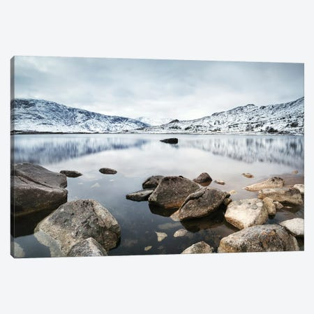 Loch In The Scottish Highlands Canvas Print #TEO219} by Matteo Colombo Canvas Art Print