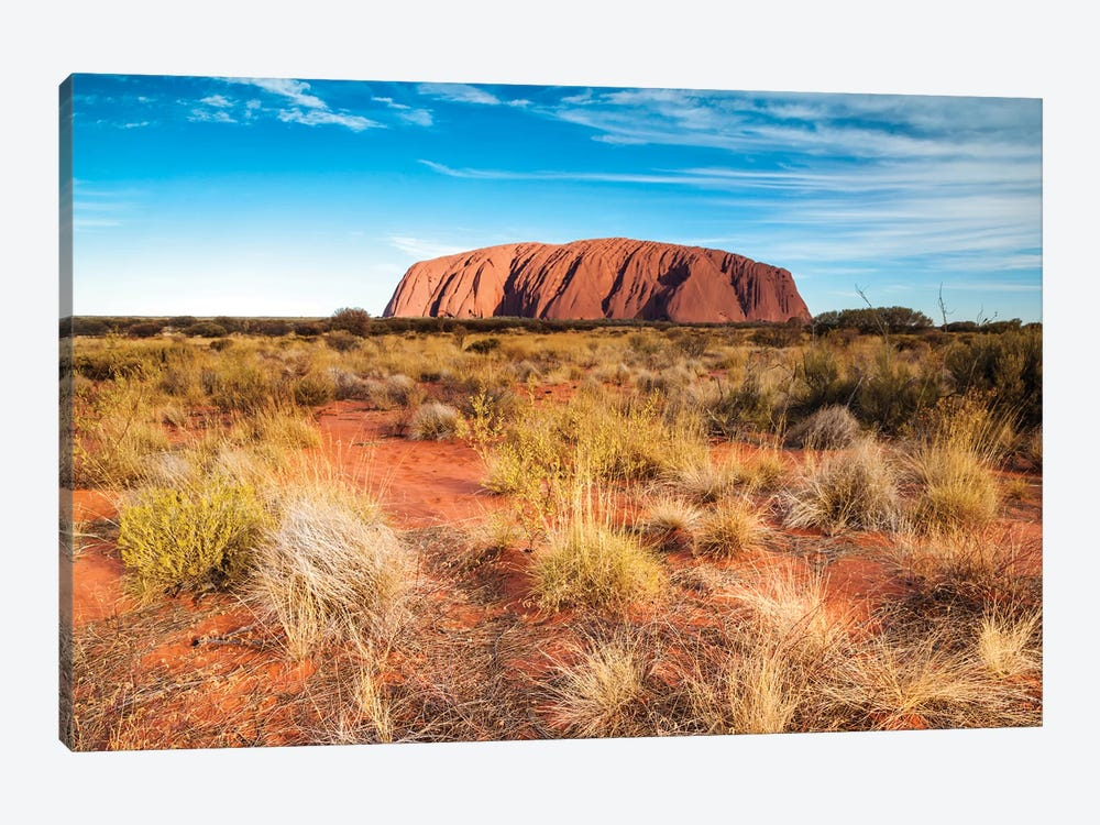 Mighty Uluru, Australia by Matteo Colombo 1-piece Canvas Print