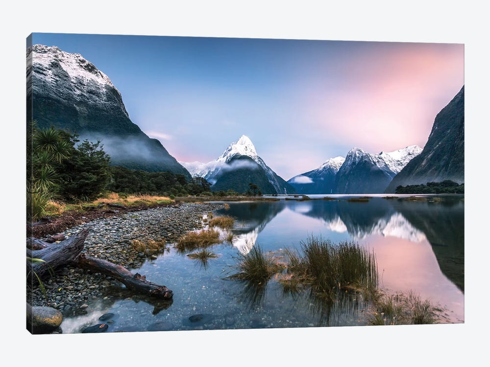 Milford Sound, New Zealand I by Matteo Colombo 1-piece Canvas Artwork
