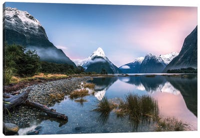 Milford Sound, New Zealand I Canvas Art Print
