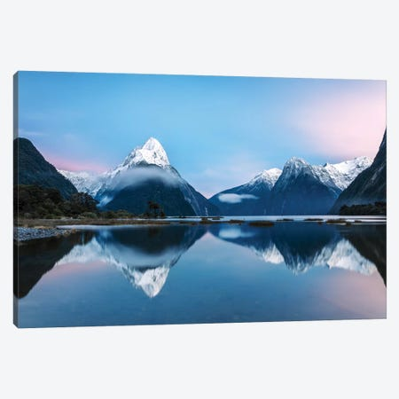 Milford Sound, New Zealand II Canvas Print #TEO222} by Matteo Colombo Canvas Art