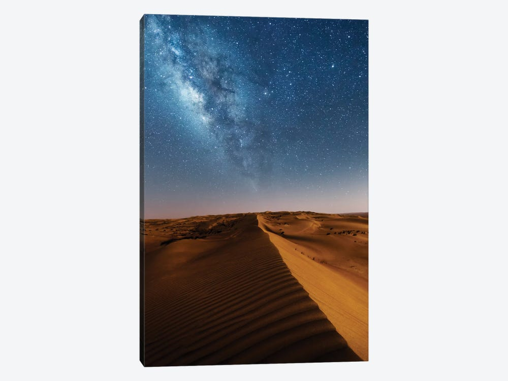 Milky Way And The Desert, Oman by Matteo Colombo 1-piece Canvas Art