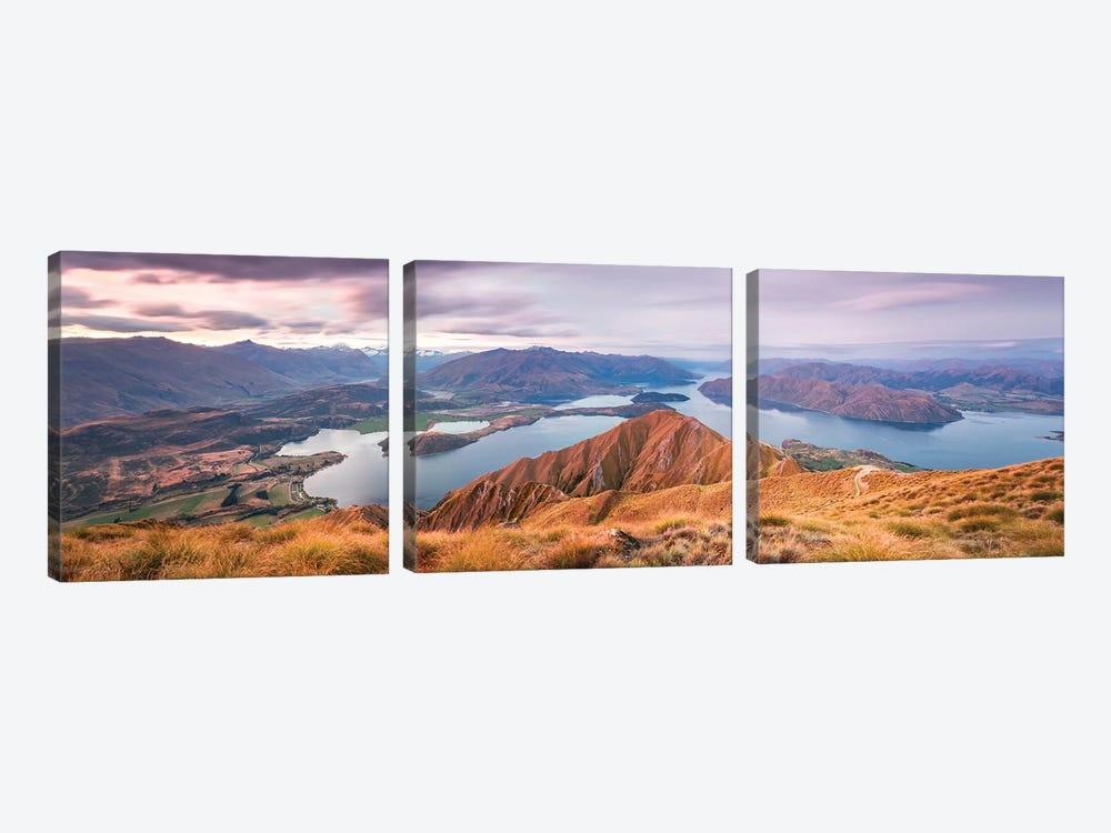 Mt. Roy, Wanaka, New Zealand by Matteo Colombo 3-piece Art Print