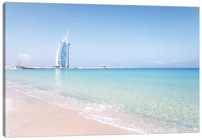 Burj al-Arab, Dubai, United Arab Emirates Canvas Art Print