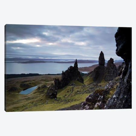Old Man Of Storr, Scotland Canvas Print #TEO231} by Matteo Colombo Canvas Art Print
