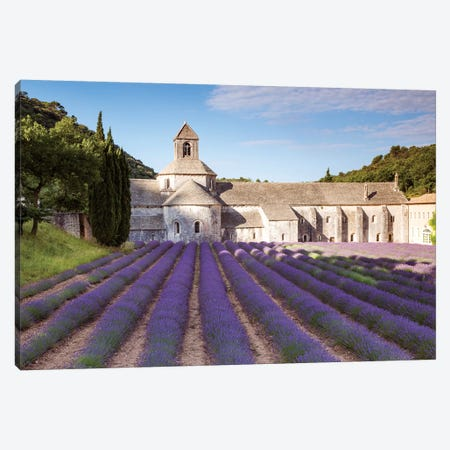 Senanque Abbey, Provence, France Canvas Print #TEO248} by Matteo Colombo Canvas Wall Art