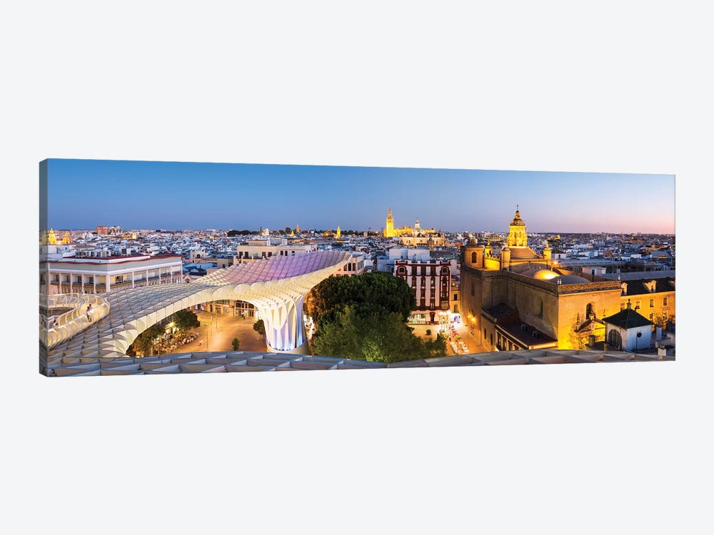 Seville At Dusk, Andalusia, Spain by Matteo Colombo 1-piece Canvas Wall Art