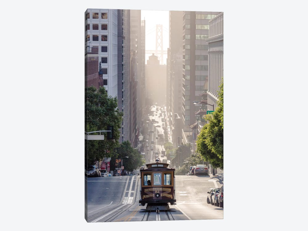 Cable Car, San Francisco, California, USA by Matteo Colombo 1-piece Canvas Art
