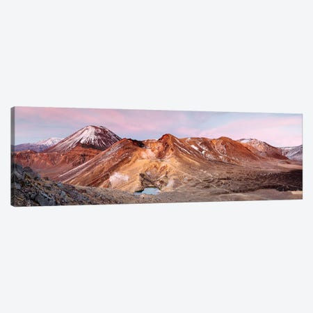 Sunrise Over Ngauruhoe Volcano, New Zealand Canvas Print #TEO258} by Matteo Colombo Canvas Art Print