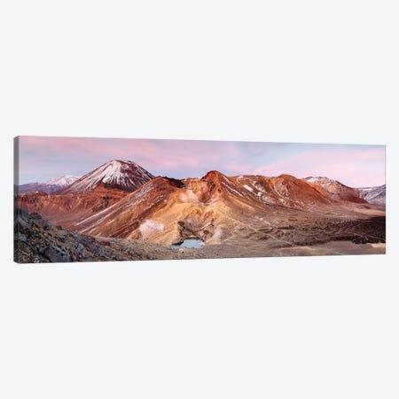 Sunrise Over Ngauruhoe Volcano, New Zealand Canvas Print #TEO258} by Matteo Colombo Canvas Art Print