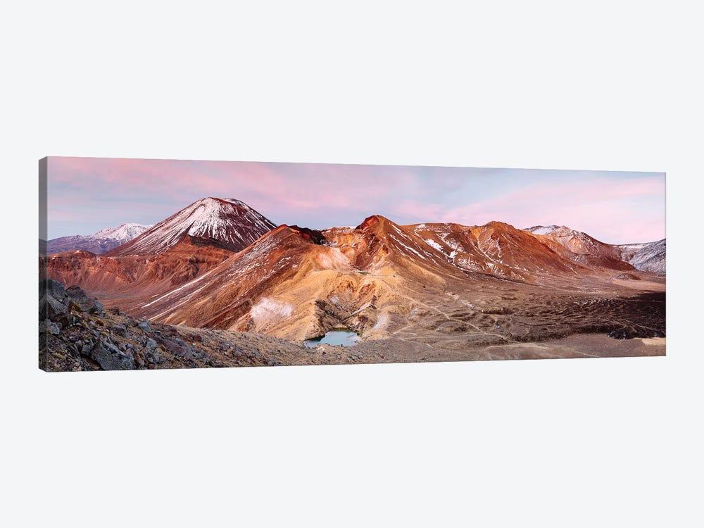 Sunrise Over Ngauruhoe Volcano, New Zealand by Matteo Colombo 1-piece Canvas Art