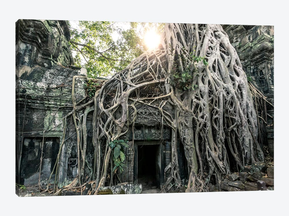 Temple In The Jungle, Angkor Wat, Cambodia by Matteo Colombo 1-piece Art Print