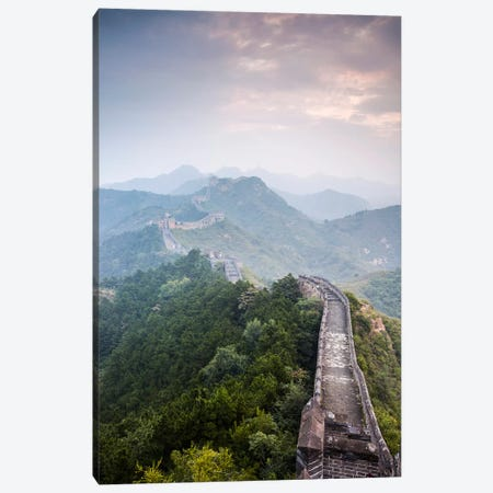 The Great Wall Of China Canvas Print #TEO265} by Matteo Colombo Canvas Art Print