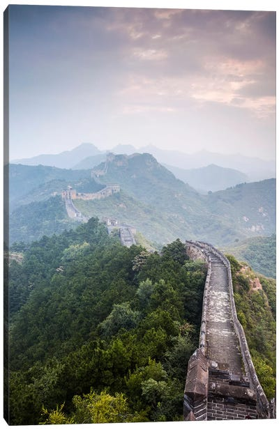 The Great Wall Of China Canvas Art Print