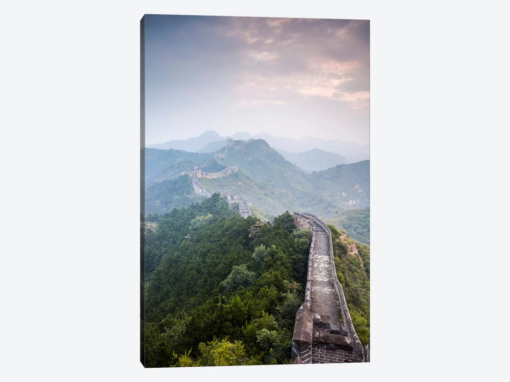 The Great Wall Of China by Matteo Colombo 1-piece Canvas Wall Art