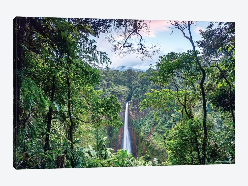 Toro Waterfall, Costa Rica by Matteo Colombo 1-piece Canvas Artwork