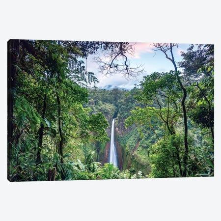 Toro Waterfall, Costa Rica Canvas Print #TEO267} by Matteo Colombo Art Print