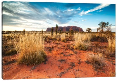 Uluru At Sunset, Australia Canvas Art Print