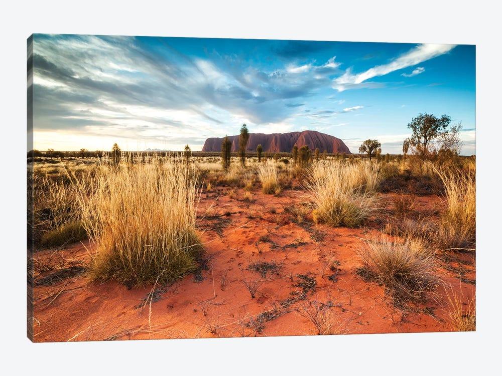 Uluru At Sunset, Australia 1-piece Canvas Wall Art