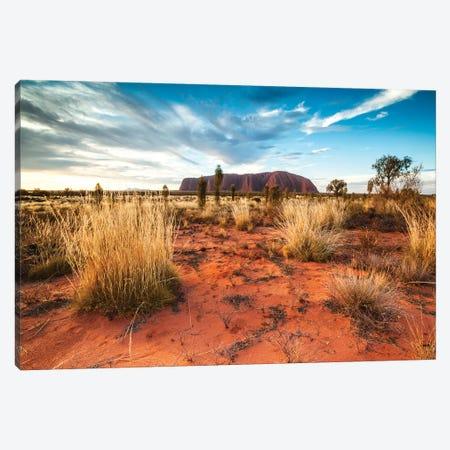 Uluru At Sunset, Australia Canvas Print #TEO270} by Matteo Colombo Canvas Art Print