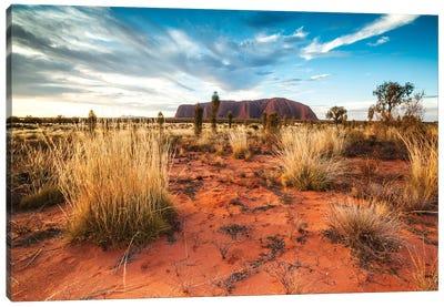 Uluru At Sunset, Australia Canvas Art Print