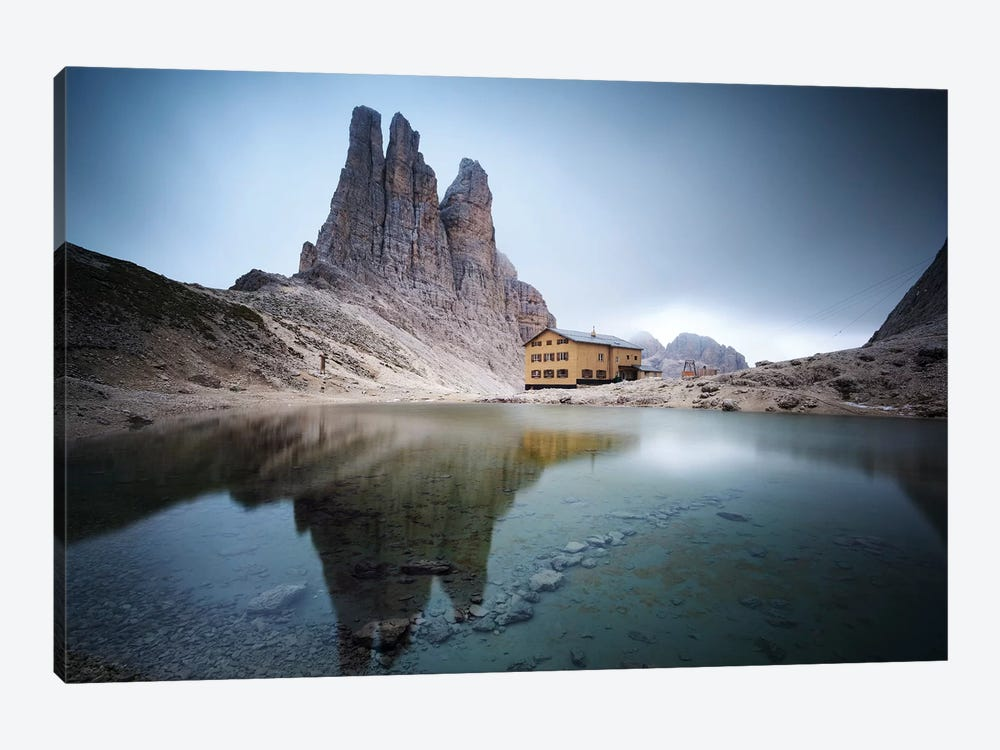 Vajolet Towers In The Italian Dolomites by Matteo Colombo 1-piece Canvas Print