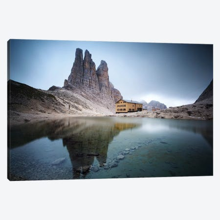 Vajolet Towers In The Italian Dolomites Canvas Print #TEO271} by Matteo Colombo Canvas Art Print