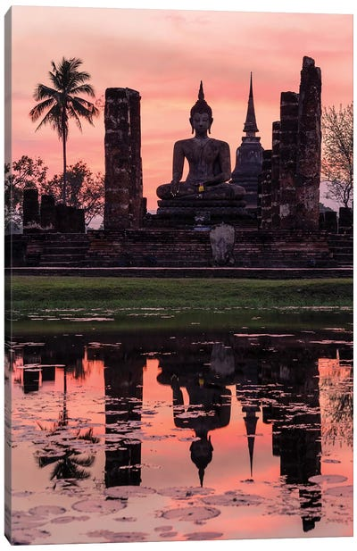 Wat Mahathat Temple, Thailand Canvas Art Print