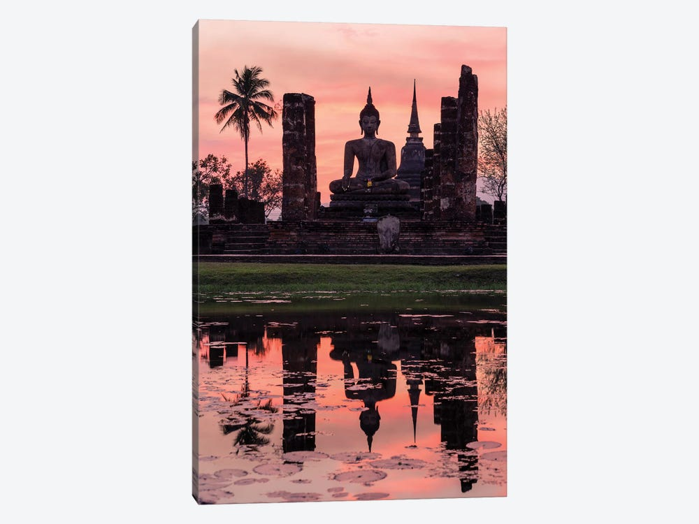 Wat Mahathat Temple, Thailand by Matteo Colombo 1-piece Art Print