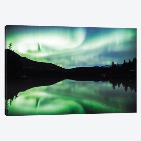 Aurora Borealis I Canvas Print #TEO279} by Matteo Colombo Canvas Art Print