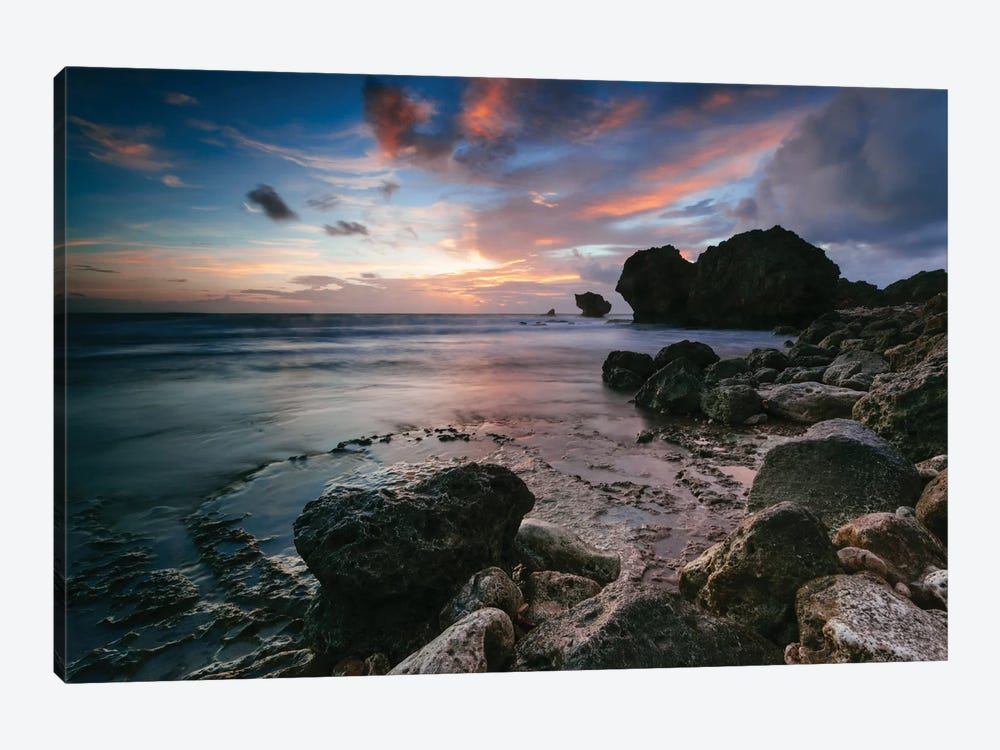 Cattlewash Beach, Barbados, Lesser Antilles by Matteo Colombo 1-piece Canvas Art Print
