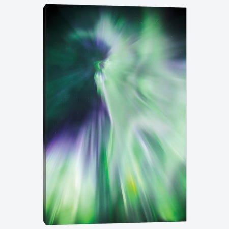 Aurora Borealis II Canvas Print #TEO280} by Matteo Colombo Canvas Wall Art