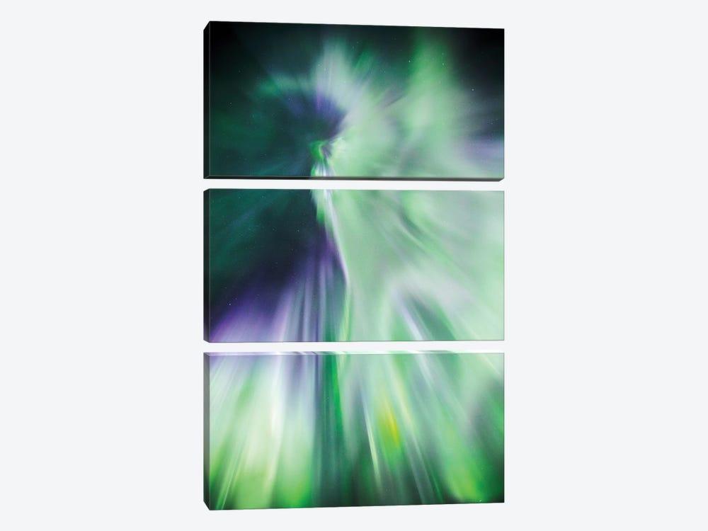 Aurora Borealis II by Matteo Colombo 3-piece Canvas Art Print