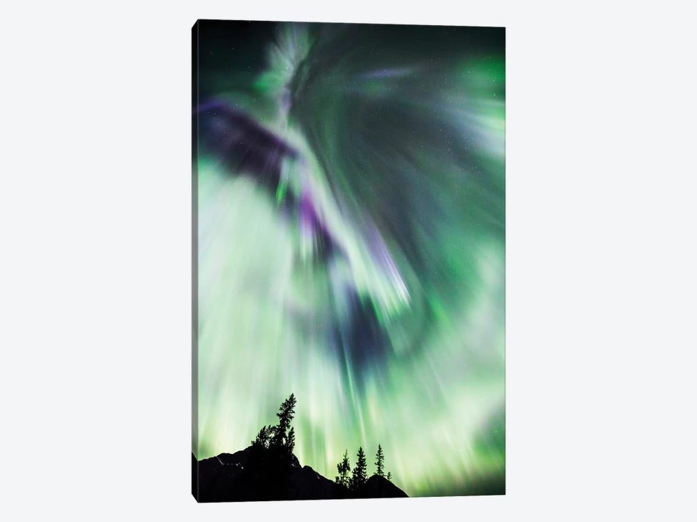 Aurora Borealis III by Matteo Colombo 1-piece Canvas Wall Art