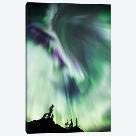 Aurora Borealis III 3-Piece Canvas #TEO281} by Matteo Colombo Canvas Wall Art