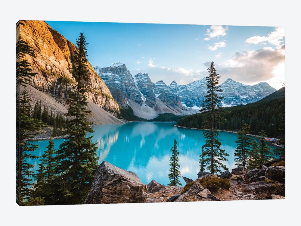 Autumnal Moraine Lake by Matteo Colombo 1-piece Canvas Art