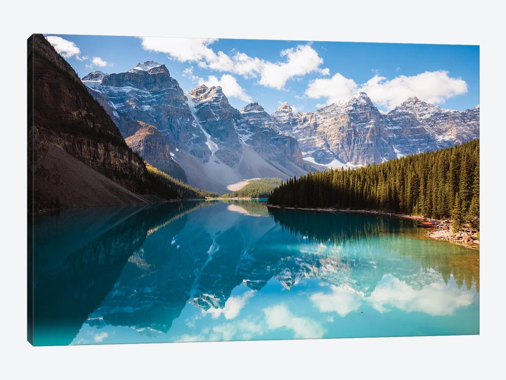 Moraine Lake And The Ten Peaks I by Matteo Colombo 1-piece Canvas Print