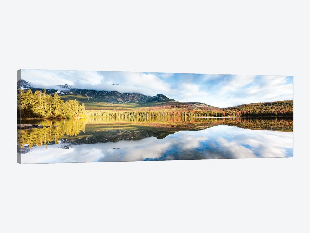 Pyramid Lake Panoramic by Matteo Colombo 1-piece Canvas Art