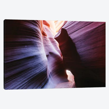 Color Temperature II, The Corkscrew, Antelope Canyon, Navajo Nation, Arizona, USA Canvas Print #TEO29} by Matteo Colombo Canvas Artwork