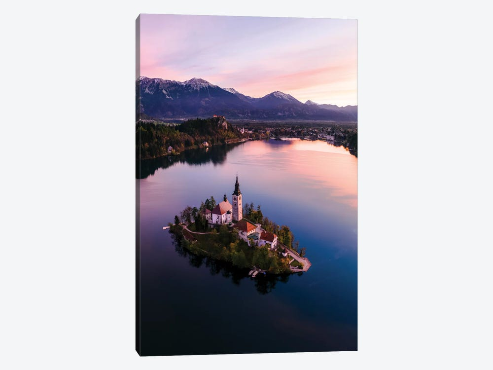 Bled Island At Sunset II by Matteo Colombo 1-piece Art Print