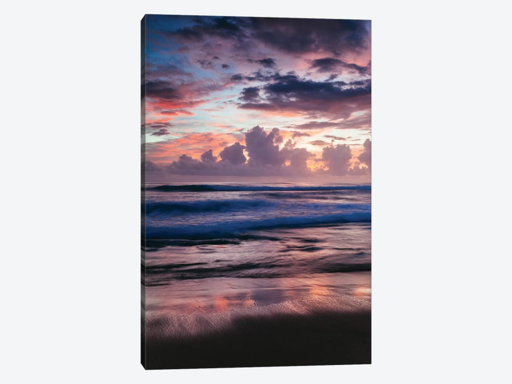 Colorful Sunset On The Caribbean Sea by Matteo Colombo 1-piece Canvas Artwork