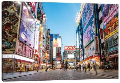 Akihabara Electric Town, Tokyo, Japan Canvas Art Print