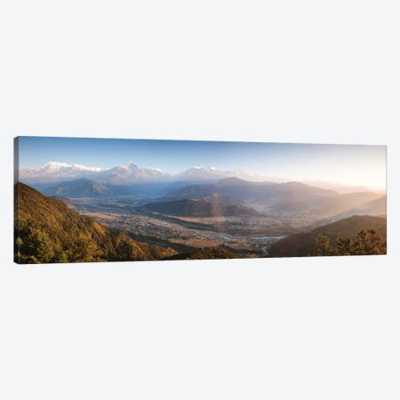 Annapurna At Sunrise, Nepal Canvas Print #TEO344} by Matteo Colombo Canvas Artwork