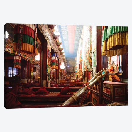 At The Monastery, Tibet Canvas Print #TEO347} by Matteo Colombo Canvas Wall Art
