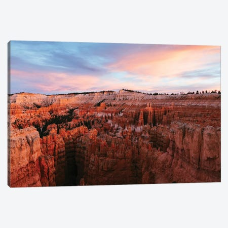 Awesome Sunset At Bryce Canyon Canvas Print #TEO351} by Matteo Colombo Canvas Art