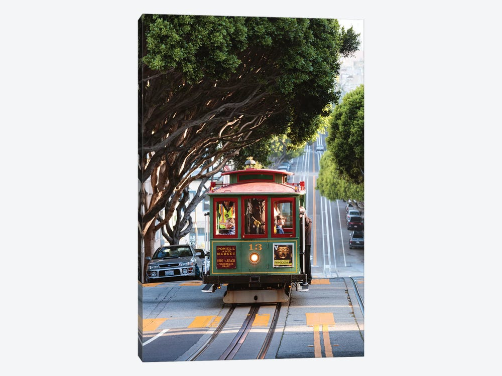 Cable Car, San Francisco by Matteo Colombo 1-piece Canvas Art