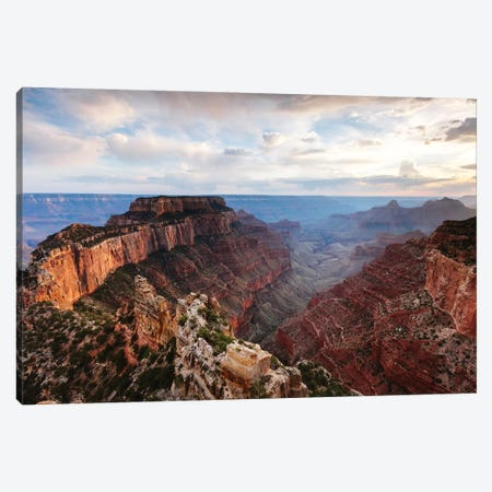 Cape Royal Sunset, Grand Canyon Canvas Print #TEO354} by Matteo Colombo Canvas Print