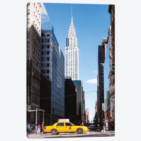 Chrysler Building, New York Canvas Print #TEO362} by Matteo Colombo Canvas Print